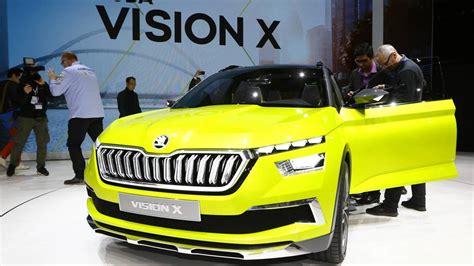 Skoda Vision X Concept Live From Geneva Motor Show