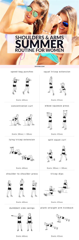 shoulders arms workout  women