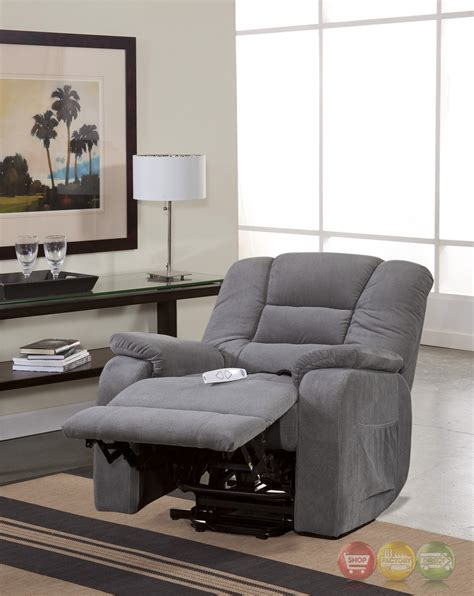 serta comfortlift bristol grey wall hugger reclining lift