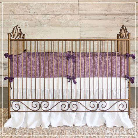 Bratt Decor Crib Gold by Casablanca Premiere Iron Baby Crib Gold Contemporary