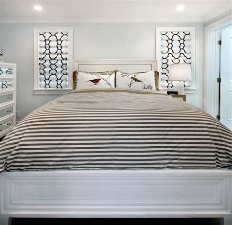 Z Gallerie Concerto Dresser by Black And White Striped Duvet Contemporary Bedroom