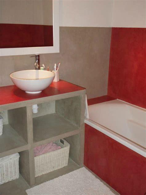 beton cellulaire salle de bain mon chez moi cr 233 ation d un meuble de salle de bains avant apr 232 s c comme creation
