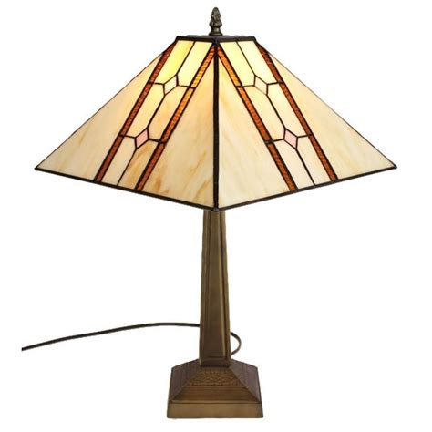 home depot tiffany ls amora lighting 20 in tiffany style mission table l