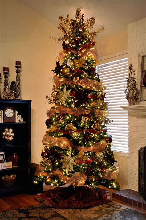 Tree Decorations Ideas With Ribbons by Decorated Trees Mesh Ribbon Garland