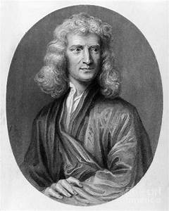 Sir Isaac Newton (1643-1727) Photograph by Granger