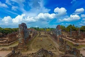 Parc Historique D U0026 39 Ayutthaya  Phra Nakhon Si Ayutthaya  Ayutthaya  Photo Stock