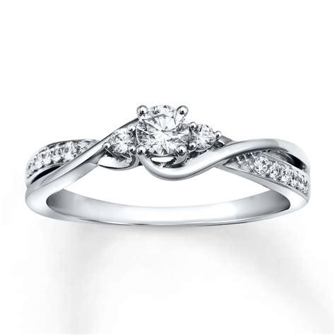 diamond engagement ring  ct tw  cut  white gold