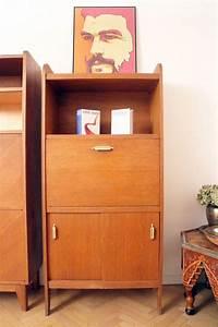 Bureau Secretaire Vintage : secr taire bureau vintage scandinave 50 39 s luckyfind ~ Teatrodelosmanantiales.com Idées de Décoration