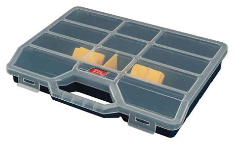 e44 boite a rangement 5 a 26 compartiments dim 312 x 238 x 51mm 224 11 90