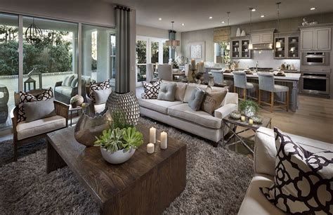 This Transitional Style Family Room Is Stunning! We Love