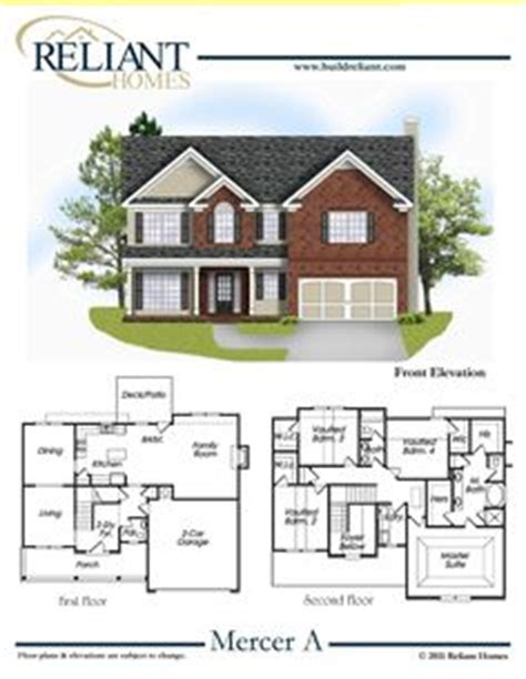 reliant homes  woodmont plan floor plans homes homes  sale dream home