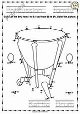 Dot Instruments Percussion Worksheets Musical Pdf Anastasiya Studio Dots Instrument Connect Worksheets4 Education Multimedia Form Classroom Tracing Coloring Trace Each sketch template