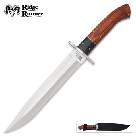 wholesale kitchen knives ridge runner montana toothpick bowie knife with sheath