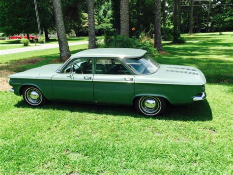 Vintage 1960 Chevrolet Corvair Classic 4 Door Plus A Free