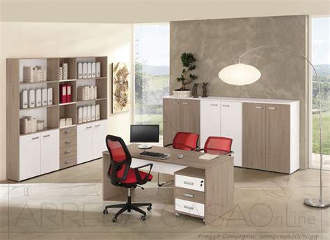 mobili per ufficio moderni mobili per ufficio completo componibili legno olmo scuro