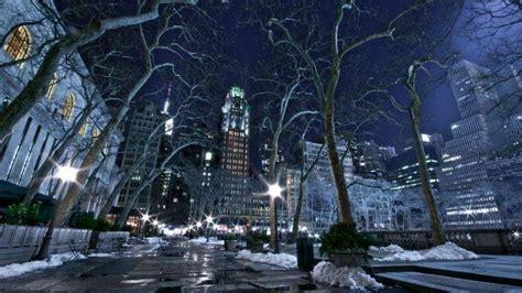 york city snow wallpapers hd desktop  mobile