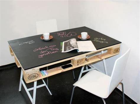 bureau avec treteau idées déco récupération et recyclage habitatpresto