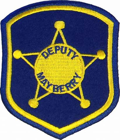 Mayberry Patch Deputy Sheriff Tv Patches Griffith