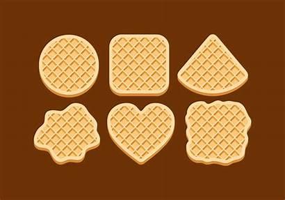 Vector Waffles Clipart Vectors Graphics Edit