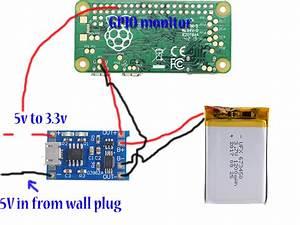 Raspberry Pi Zero W Controlled Server Power Monitor With