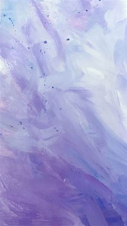 Purple Paint Strokes Iphone Ilikewallpaper