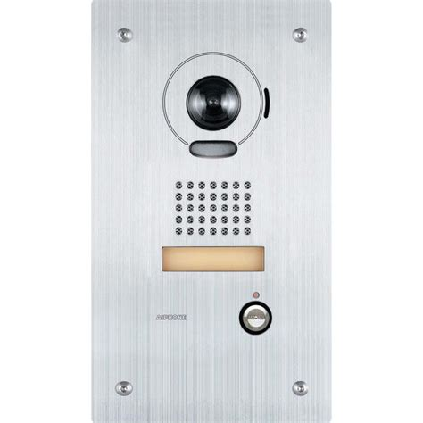 Aiphone Isipdvf Flush Mount Ip Video Door Station Is