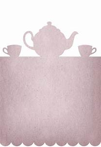 17 best images about teapots illustrations on pinterest With morning tea invitation template free