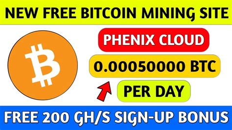 While there are many ways you can make money with bitcoin in the earning bitcoins online take time and money and most methods promising free bitcoins will not be. New Free Bitcoin Mining Website in 2020 | Earn Daily Free Bitcoin | New Free Bitcoin Earning ...