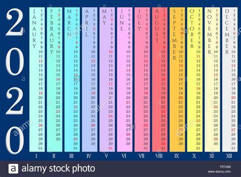 vector de calendario vectores imagenes de stock