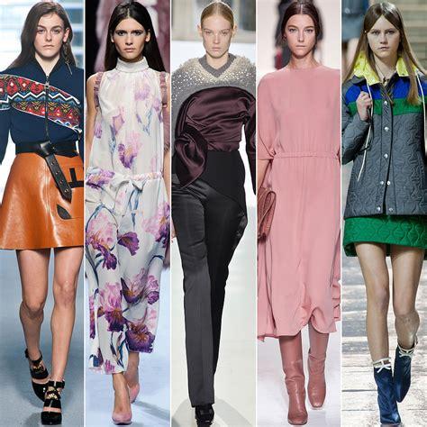Fashion Trends Fall 2014 Paris Fashion Week  Popsugar Fashion