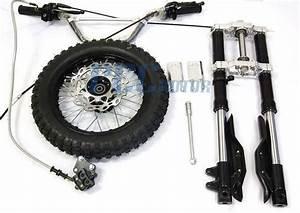 Inverted Forks 12 U0026quot  Wheel Xr50 Crf50 Xr Crf 50 Sdg Ssr Pit