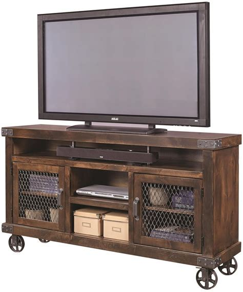 25  best ideas about Industrial Tv Stand on Pinterest
