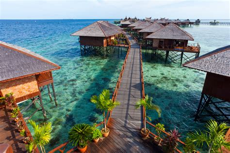 3 Amazing Overwater Villas Found In Malaysia  Moon Cakes