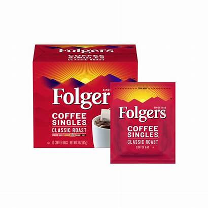 Coffee Classic Roast Folgers Singles Serve Single