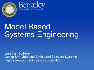 Ppt  Modelbased Systems Engineering (mbse) Initiative
