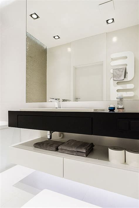 modern minimalist apartment  gdynia  dragon art design