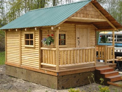 mini cabins houses small cabin plans cabins