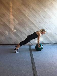 A 30-Minute Workout With Just a Med Ball - A Sweat Life