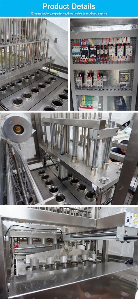 china customized sanitary food grade automatic filling packing machine  ice cream water