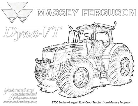 Tractor Color Pages Democraciaejustica