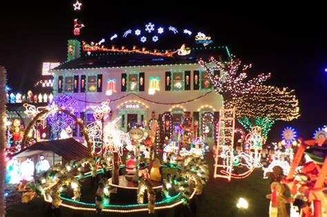 christmas lights in ohio crown point parkway festival of lights