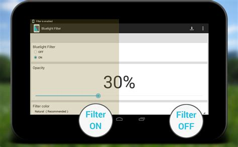 what does the blue light filter do bluelight filter for eye care android apps on google play