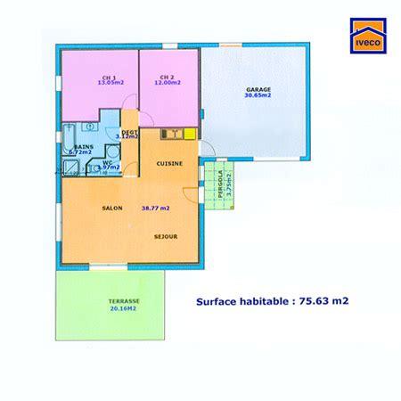 Plan Maison 2 Chambres - construire une maison pour votre famille plans maisons