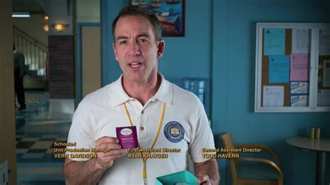 Twinings Tea Held by Bryan Callen as Coach Rick Mellor in ...
