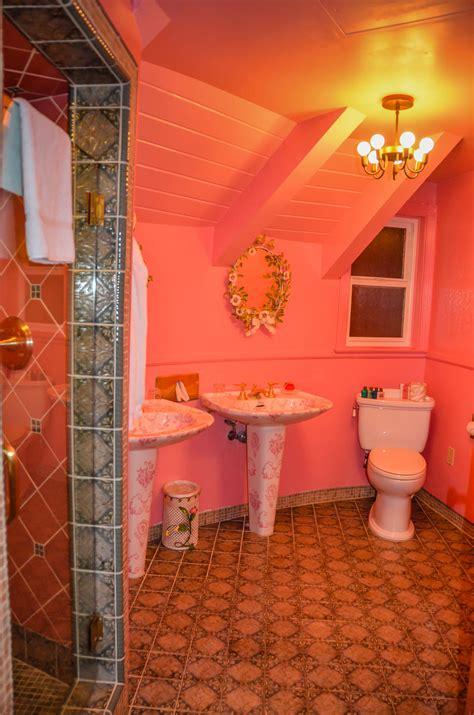 madonna inn bathroom pictures beat the empty nest blues at the madonna inn getaway mavens