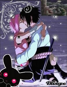 sasuke and sakura kiss Picture #93442272 | Blingee.com