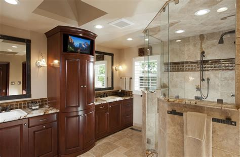 tile master bathroom ideas saratoga home remodeling spotlight gallery cage design build
