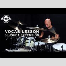 'blushda' Lick Ideas  Play Better Drums W Louie Palmer Youtube