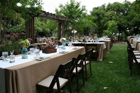 Backyard Garden Wedding by Beautiful Garden Design For Your Wonderful Weeding Ideas