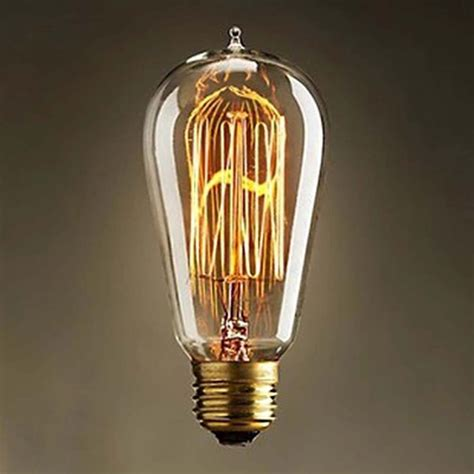 Fashioned Light Bulbs by 220v E27 60w Vintage Edison Bulb Fashion Antique Light